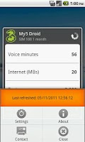 Screenshot of My3 Droid (Three Usage Check)