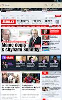 Screenshot of České Noviny