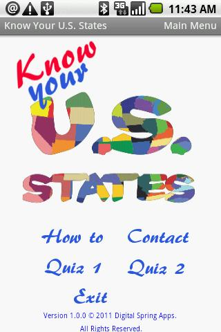 Know Your US States II