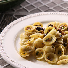 Orecchiette with Pistachios Recipe