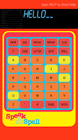 Screenshot of Speak and Spell