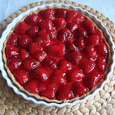 Super Easy No-Bake Strawberry Pie