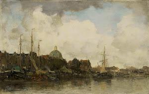 RIJKS: Jacob Maris: painting 1875