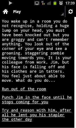 Zombie Survival - You Decide