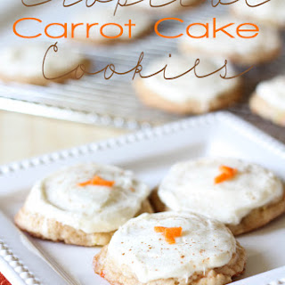 Tropical Carrot Cake Cookies