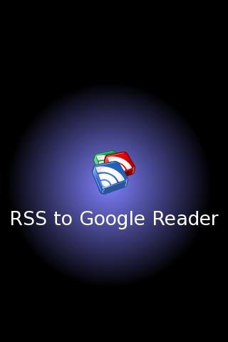 RSS to Google Reader