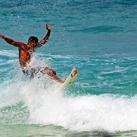 Surfing at Salang Tioman by Eddy  Garcia - Sports & Fitness Surfing