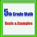 5th Grade Math, Goals&Examples