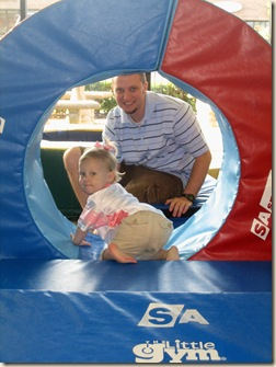 emma and daddy tunnel