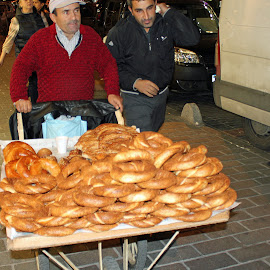 Bread street seller by Luci Henriques - Food & Drink Cooking & Baking
