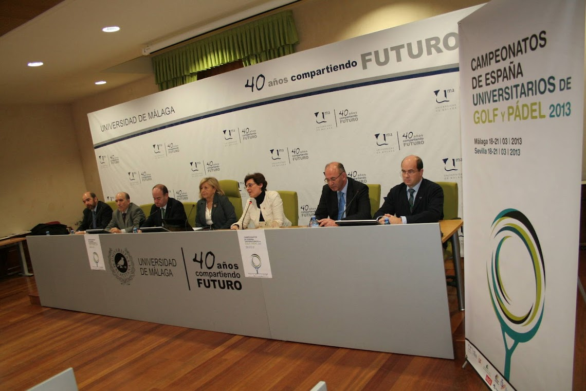 HOTEL ANTEQUERA: HOST OF THE SPANISH UNIVERSITY GOLF CHAMPIONSHIP FOR THE THIRD TIME