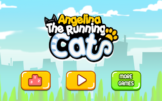 Screenshot of Angelina the Running Cat