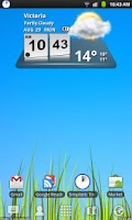 Screenshot of Simplistic Countdown Timer