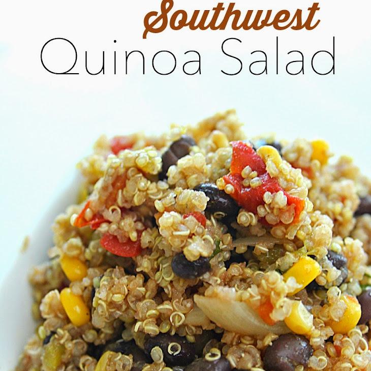 Southwest Quinoa Salad Rezept | Yummly