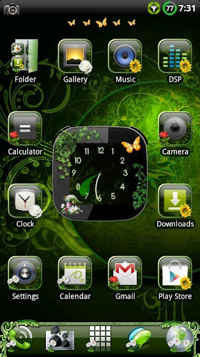 Nature v2 GO Launcher EX Theme