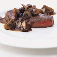 Blade Steaks with Mushrooms