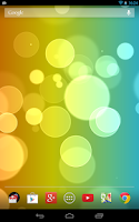 Screenshot of Super Bokeh Live Wallpaper Pro