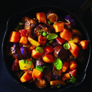 Eggplant & Sweet Potato Stir-Fry