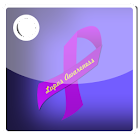 Lupus Awareness Ribbon Widget icon
