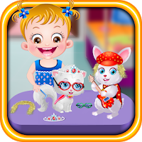 Screenshot of Baby Hazel Pet Party