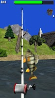 Screenshot of Big River Fishing 3D Lite