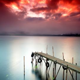 the bridge by Jacki Aza - Landscapes Sunsets & Sunrises