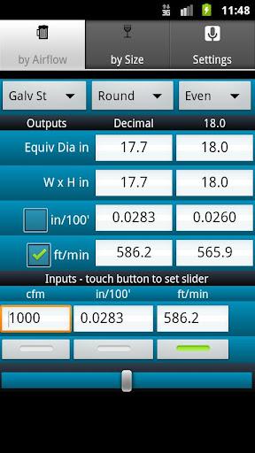 【免費商業App】HVAC Buddy® Duct Calc-APP點子