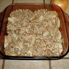 Apple Pineapple Crisp No Sugar No Flour