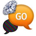 GO SMS - Diamond Rainbow 2 icon