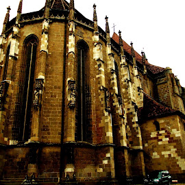 Black Church by Catalin Bcv - Buildings & Architecture Statues & Monuments ( black church )