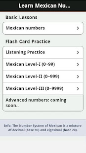 Learn Mexican Numbers, Fast! - screenshot