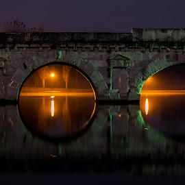Pomte di Tiberio rimini by Milena Masini - Buildings & Architecture Bridges & Suspended Structures ( colors, rimini, bridge, architecture, roman, italy, antique, 2000 years )