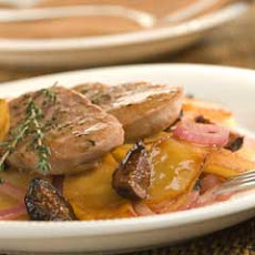 Pork Tenderloin With Port & Fig Sauce