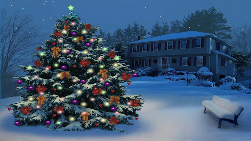 【免費娛樂App】Christmas Tree In The Park-APP點子
