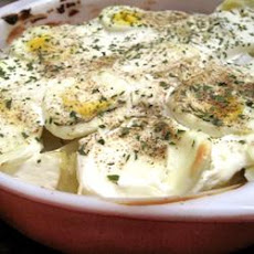 Ukraine Baked Potato Salad