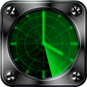 Radar Clock Live Wallpaper icon