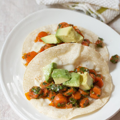 Middle Eastern Carrot Tacos