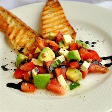 Lisa's Cross-Cultural Salsa with Tomato, Avocado, Lime, and Feta ...