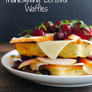 Thanksgiving Leftover Waffles