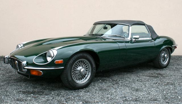Vintage E-Type Jaguar