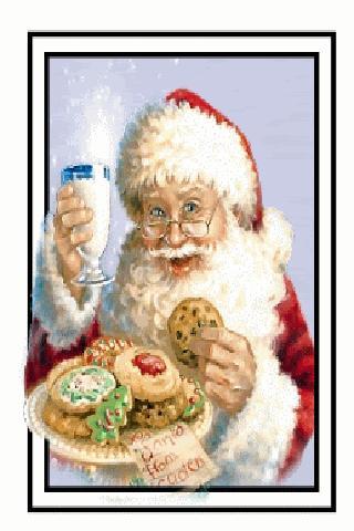 Santa Cookie Live Wallpaper