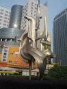 淞滨路雕塑
