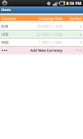 Screenshot of vn Money