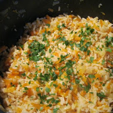 Brown Rice and Carrot Pilaf