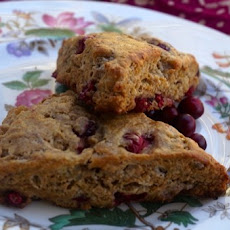 Cranberry and Ginger Scones