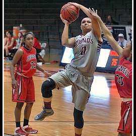 UIndy VS William Jewell womens Basketball 10 by Oscar Salinas - Sports & Fitness Basketball