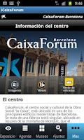 Screenshot of iCaixaForum