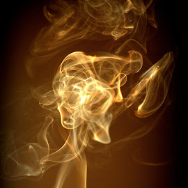 smoke by Cosmin Popa-Gorjanu - Abstract Patterns