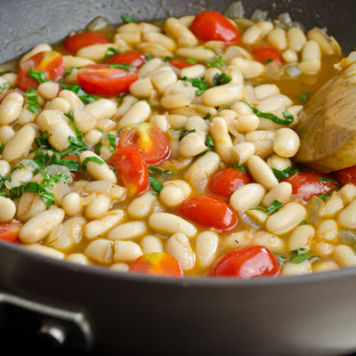 Summer White Bean Ragout