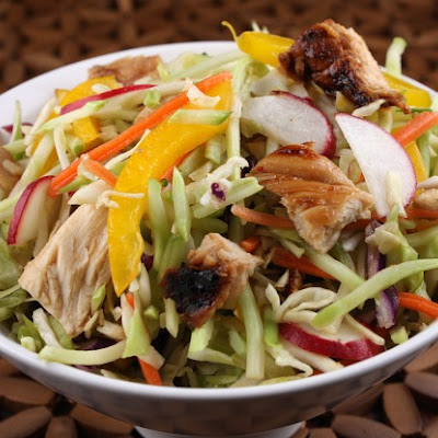 Chinese Grilled Chicken Salad